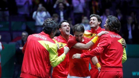 Así ganaron Nadal y Bautista la sexta Copa Davis de España