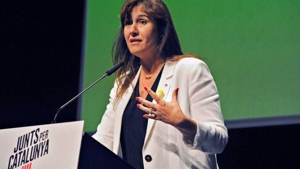 Laura Borrás, diputada de JxCat