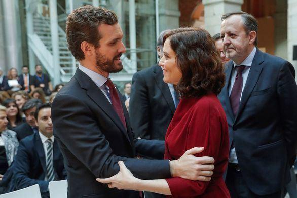 Casado reprocha a Sánchez que optara por populistas y separatistas