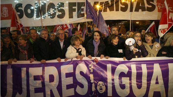 Manifestaciones en toda España por el Día contra la Violencia de Género