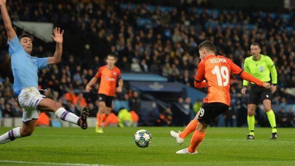 El Manchester City se distrae ante el Shakhtar pero cierra el liderato   1-1