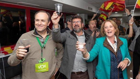 Dimite en bloque la Ejecutiva de Vox en Murcia por