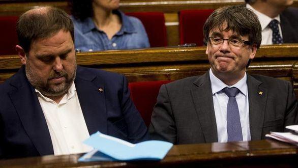 El Tribunal de Cuentas cita a Puigdemont y Junqueras por los gastos del 1-O