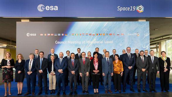 Ministros de los Estados miembros de la ESA.