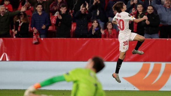 Liga Europa. Victoria funcionaral del Sevilla ante el Qarabag |2-0