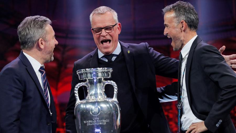 Suecia, Polonia y una selección de la repesca, rivales de España en la Euro 2020