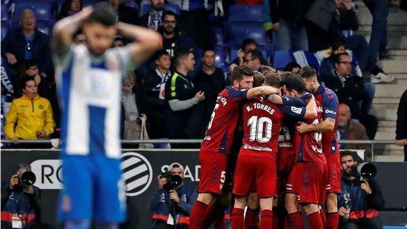 Osasuna hunde al Espanyol en tres minutos | 2-4