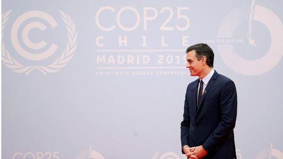 El presidente en funciones, Pedro Sánchez