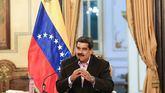 El presidente de Venezuela, Nicolás Maduro, mientras participa en un acto de gobierno.