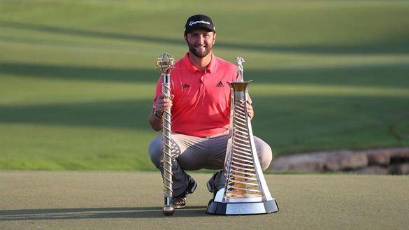 European Tour. Jon Rahm, tercer español en lograr el 'Mejor Golfista' del año
