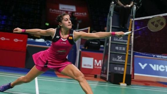 Carolina Marín trabaja 'muy duro' para apuntar a los Juegos Olímpicos de Tokio