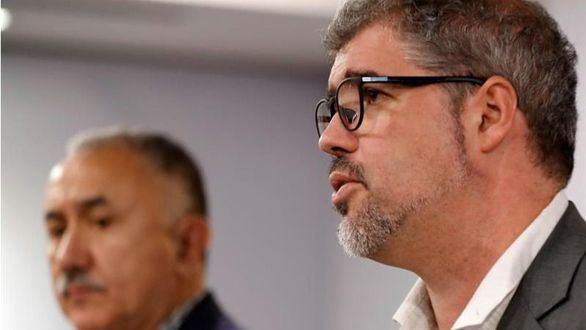 Los sindicatos visitan a Junqueras en la cárcel y el PP señala a Ábalos
