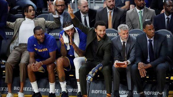 NBA. Los Warriors, de la gloria al último puesto en unos meses
