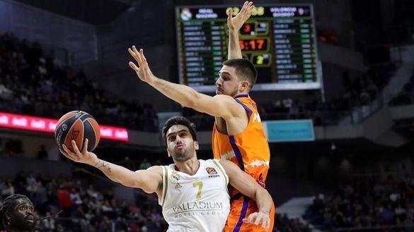Euroliga. El Real Madrid sigue escalando y deshace al Valencia | 111-99