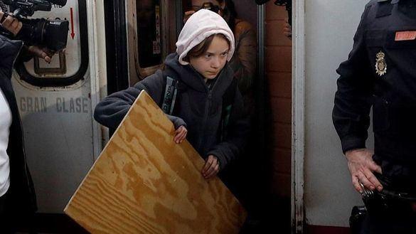 Greta Thunberg ya está en Madrid para encabezar la Marcha por el Clima