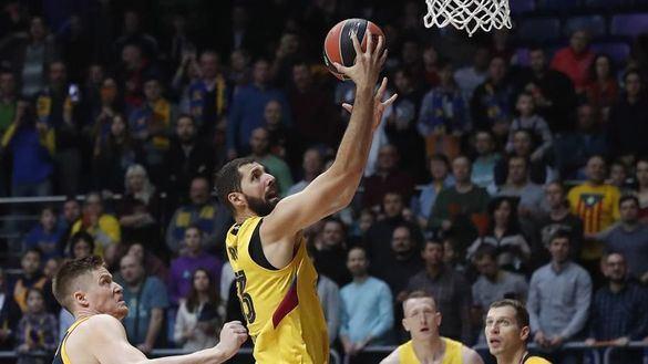 Euroliga. El Barcelona reacciona ante el Khimki |94-102