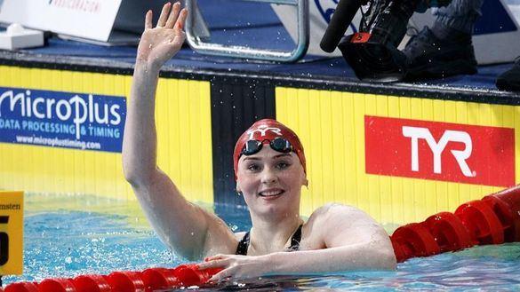 Europeos piscina corta. Freya Anderson se proclama nueva estrella