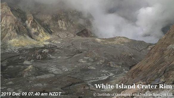 Al menos cinco muertos tras la erupción de un volcán en Nueva Zelanda