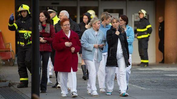 Al menos seis muertos en un tiroteo en un hospital checo