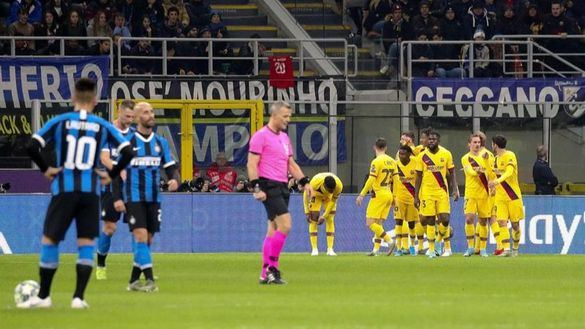 Los 'novatos' del Barcelona conquistan San Siro y eliminan al Inter | 1-2