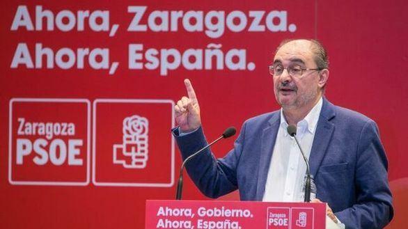 Lambán vuelve a criticar a Pedro Sánchez: ERC es