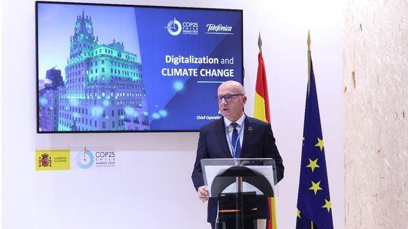 Telefónica alcanzará la neutralidad en CO2 para 2050