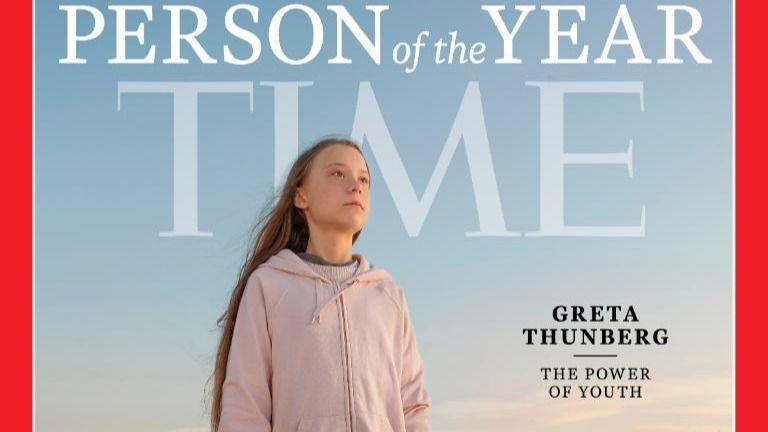 La revista Time nombra 'persona del año' a Greta Thunberg
