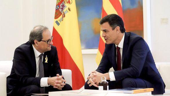 Puigdemont y Torra, contra Iceta por
