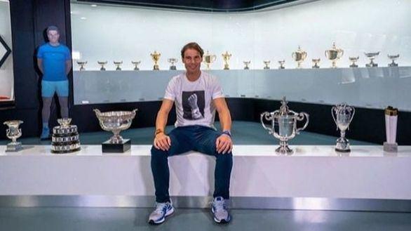 ATP. Rafa Nadal presume de títulos en un