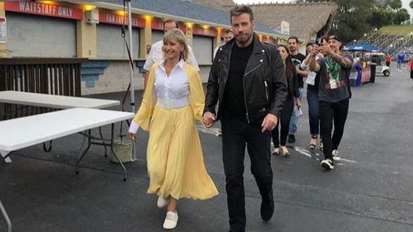 John Travolta y Olivia Newton-John vuelven a ser Danny y Sandy 40 años después