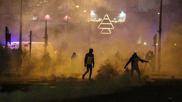 Violentas protestas en Líbano con una veintena de heridos