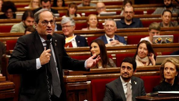 Torra convocará a los partidos en enero para trazar un plan de autodeterminación