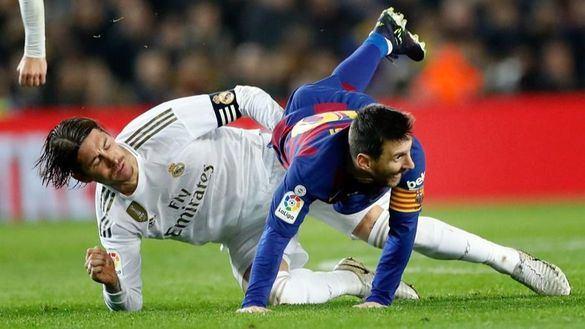 Real Madrid y Barcelona empatan en un Camp Nou en paz