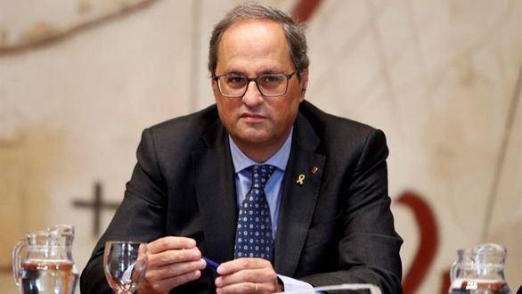 Quim Torra, inhabilitado como presidente de la Generalidad