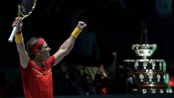 Rafael Nadal es condecorado campeón del mundo por cuarta vez