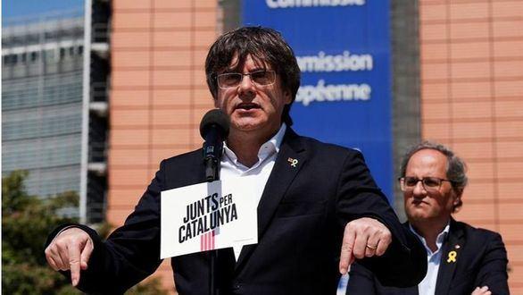 El expresidente catalán, Carles Puigdemont, el pasado 24 de mayo.