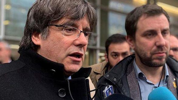 Puigdemont y Comín adquieren la acreditación provisional para acceder al Parlamento Europeo