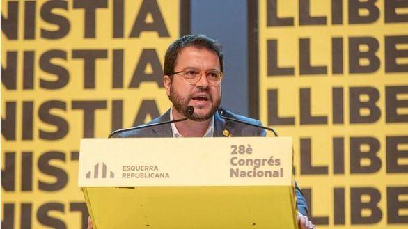El coordinador nacional de ERC, Pere Aragonès.