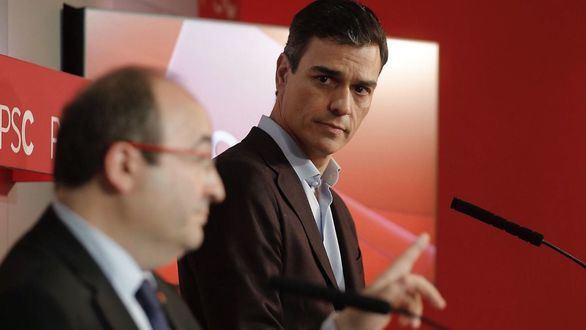 No cesan las puñaladas entre miembros del PSOE por la negociación de Pedro Sánchez con ERC