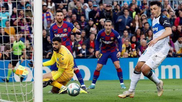 La 'MSG' se crece en el Camp Nou ante el Alavés | 4-1