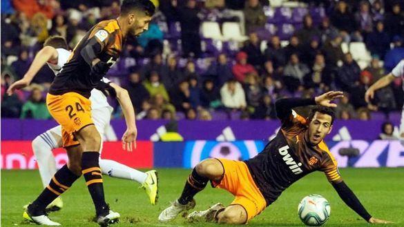 El Valencia rescata un punto en Valladolid en el último instante | 1-1