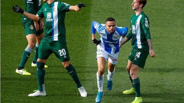 El Leganés se impulsa, el Espanyol se hunde | 2-0