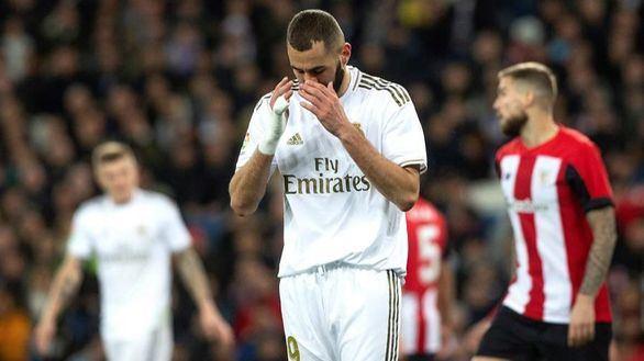 El Real Madrid tiene un problema con el gol en su despedida de 2019   0-0