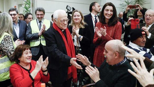 Nochebuena en el Senado: cena solidaria para 150 personas sin hogar