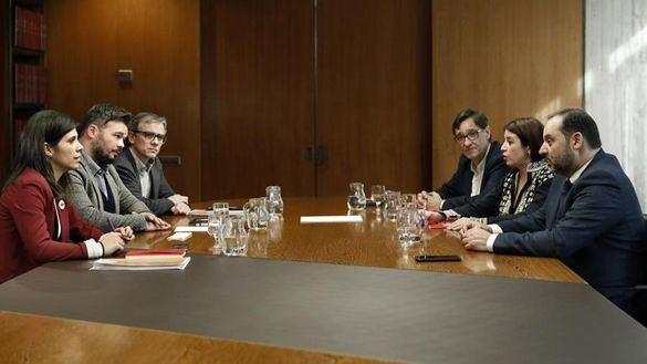 ERC congela el acuerdo con el PSOE por el retraso de la Abogacía