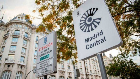 Nuevas restricciones para los vehículos más contaminantes en Madrid Central en 2020