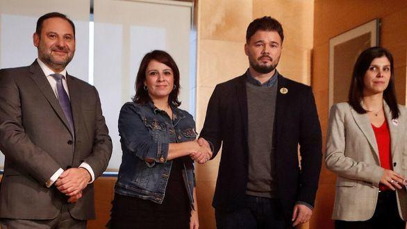 Nueva reunión y nuevo fracaso de la negociación de PSOE y ERC sobre la investidura