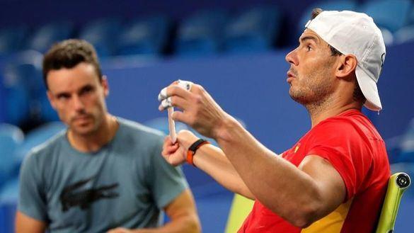 Copa ATP. Rafa Nadal y España ya se entrenan en Australia