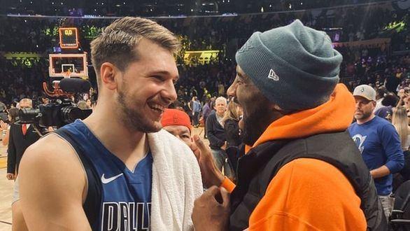 NBA. La simpática admiración de Kobe Bryant por Luka Doncic