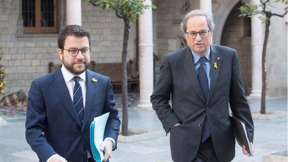 Torra recalca que no comparte el acuerdo PSOE-ERC